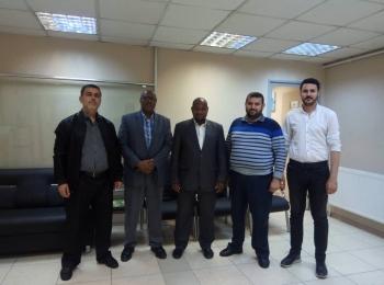 الدكتور عومارو غانمي رئيس جمعية النصر لتنمية التعليم والثقافة الإسلامية يزور مجلس التعاون الأفروآسيوي