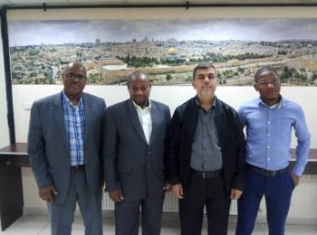 Dr. Omarou Ganami, président de l'Association Al Nasr pour le développement de l'éducation et de la culture islamiques, en visite au Conseil de coopération Afro-asiatique