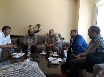 خلال زيارته لدولة تونس وفد المجلس يلتقي عدد من رجال الأعمال