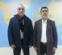 الدكتور  إدريس ربوح يستقبل رئيس رابطة مهجري بنغازي –ليبيا