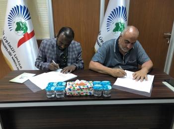 توقيع مذكرة تفاهيم بين المجلس وجمعية أوردا للبحث والتنمية