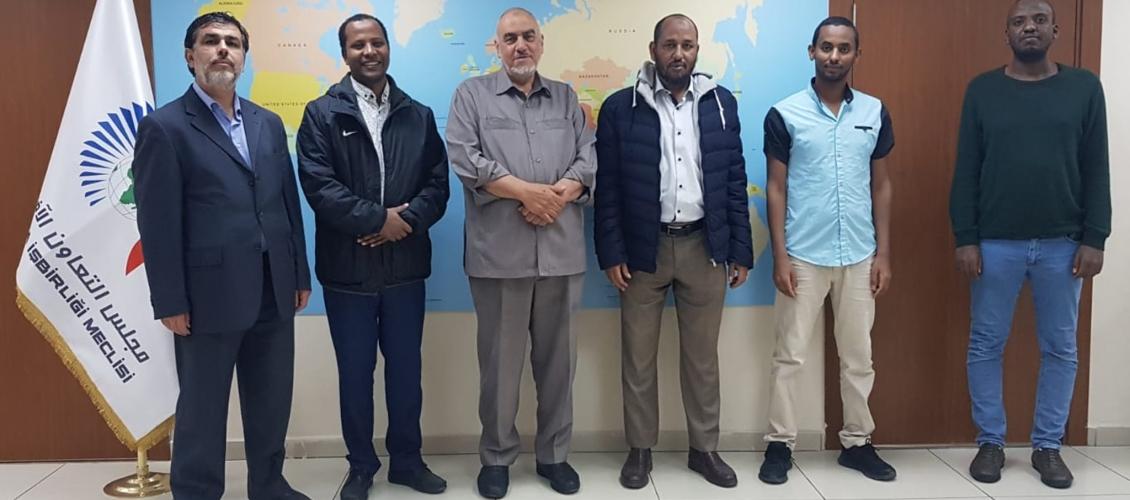 رئيس مجلس إدارة مجلس التعاون الأفروآسيوي يستقبل وفد من جمعية اوردا الإثيوية
