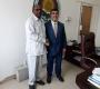 Une délégation venant de Kinya visite le conseil Afro-Asiatique