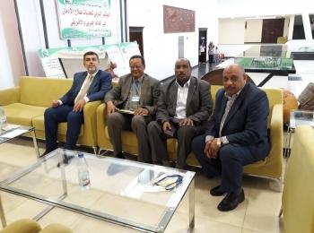 الدكتور إدريس ربوح يلتقي رئيس الجمعية الطبية الإسلامية بالسودان ورئيس الجمعية في المملكة المتحدة وايرلندا
