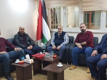 وفد إعلامي جزائري يزور مجلس التعاون الافرو آسيوي