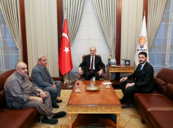 وفد مجلس التعاون الأفروآسيوي يزور السيد نعمان كورتولمش نائب رئيس الحزب الحاكم النائب الأول لأردوغان