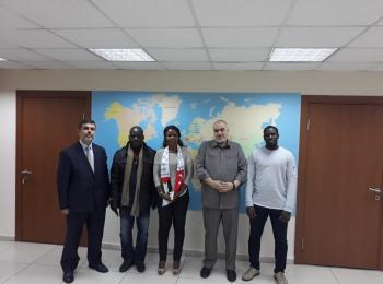 وفد نيابي من جمهورية كوت ديفوار يزور مجلس التعاون الافروآسيوي