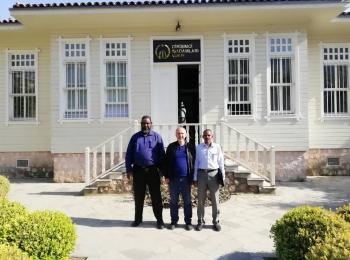 بتنظيم من مجلس التعاون الافروآسيوي وفد جمعية الإحسان السودانية يزور مؤسسة رجال الأعمال الريادية في إسطنبول