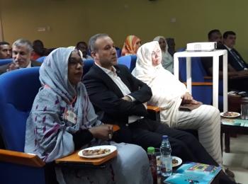 مسؤول العلاقات الافريقية بمجلس التعاون يزور المستشفى السوداني لعلاج سرطان الأطفال
