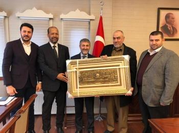 Asya Afrika İşbirliği Meclisi'nden Türkiye Hazine ve Maliye Bakan Yardımcısı Nureddin Nebati'ye Ziyaret