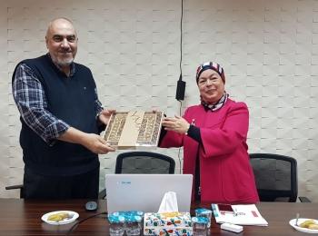 زيارة المديرة العامة لصندوق الودائع و الأمانات في تونس لمجلس التعاون الأفروآسيوي