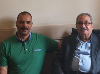 مسؤول ملف آسيا الوسطي بالمجلس يزور مستشار رئيس جامعة صباح الدين زعيم الأستاذ الدكتور محمد حرب