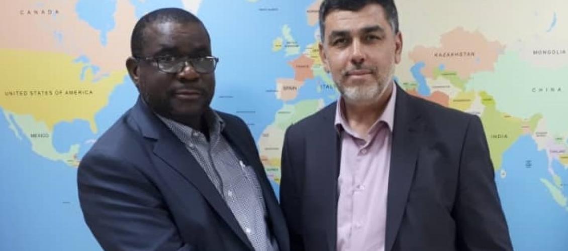 رئيس مجلس العمل الإفريقي يستقبل الأمين العام للمجلس الإسلامي الأعلى بزامبيا