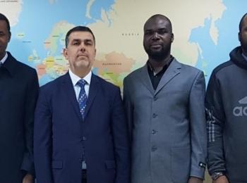 رئيس مجلس العمل الإفريقي بمجلس التعاون الافرو آسيوي د.ادريس ربوح يستقبل السيد عبد الفتاح ساليفو من جمهورية الطوغو