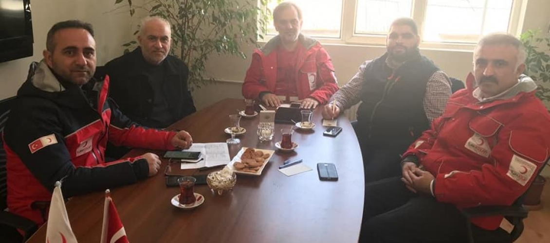 وفد مجلس التعاون الإفروآسيوي يزور ولاية ألازيغ شرق تركيا للوقوف ميدانيا على نتائج الزلزال