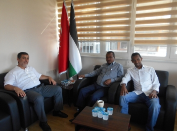 A delegation from the Ethiopian Gulf Development Association visits the Afro-Asian Cooperation Council