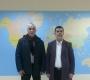 Mr.Idriss Rebouh reçoit le président du rassemblement des immigrants libyens de Benghazi