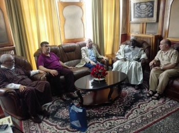 مجلس التعاون الأفروآسيوي ينظم مجموعة من الزيارات لوفد منظمة الفاروق المالية بدولة الجزائر