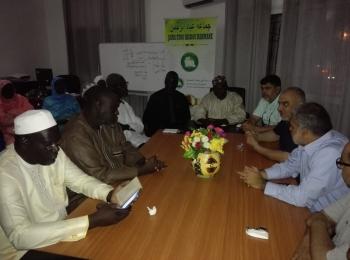 وفد مجلس التعاون الأفروآسيوي يلتقي بقيادة جماعة عباد الرحمن السنغالية