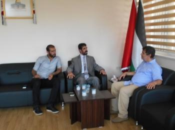 وفد من المؤسسة الدولية للدعوة والعلوم الإسلامية بتركيا يزور مجلس التعاون الأفروآسيوي