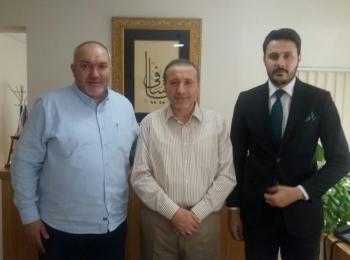 وفد مجلس التعاون الافروآسيوي الطبي والإغاثي يزور الاتحاد الإسلامي العالمي للصحة بالعاصمة التركية أنقرة
