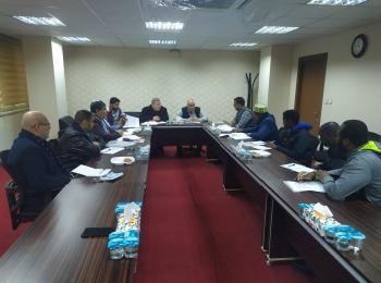 الأمانة العامة للمنتدى الآفرو آسيوي تعقد اجتماعها الأول