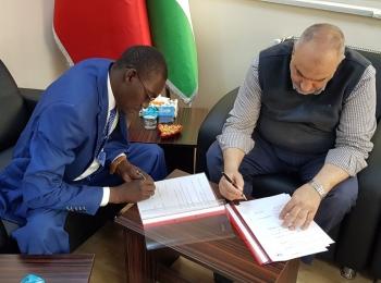 مجلس التعاون الافرو آسيوي يوقع اتفاقية تعاون مع جمعية أمل للدفاع عن حقوق ذوي الإعاقة بتشاد