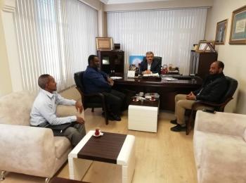 بتنظيم من مجلس التعاون الافروآسيوي وفد جمعية الإحسان السودانية يزور اتحاد المنظمات الأهلية في العالم الإسلامي