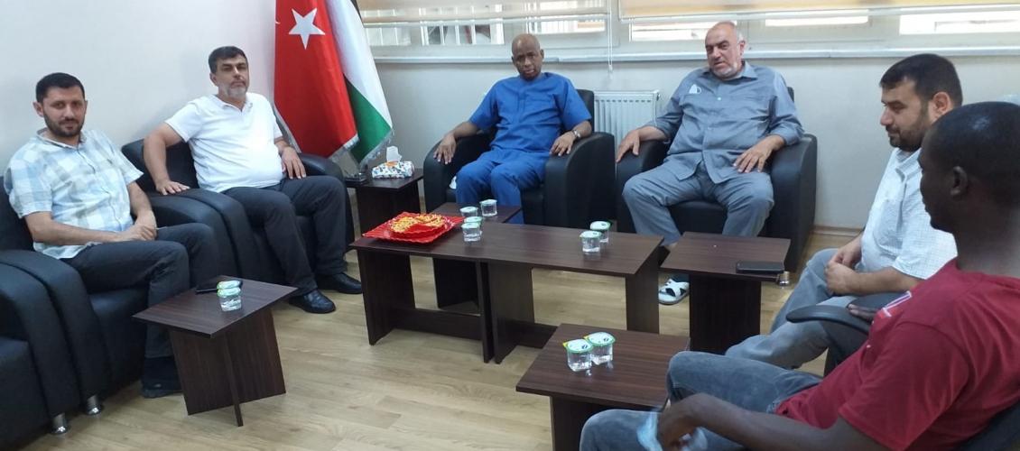 مجلس التعاون الأفروآسيوي يستقبل وفدا من منظمة مجموعة الدول الثماني النامية
