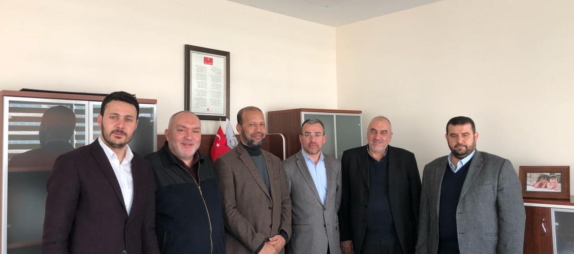 """مجلس التعاون يلتقي السيد محمد كلتش مسؤول العلاقات الثقافية والاجتماعية بمنظمة""""YTB"""""""