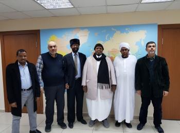 رابطة علماء إرتيريا تزور مجلس التعاون الأفروآسيوي